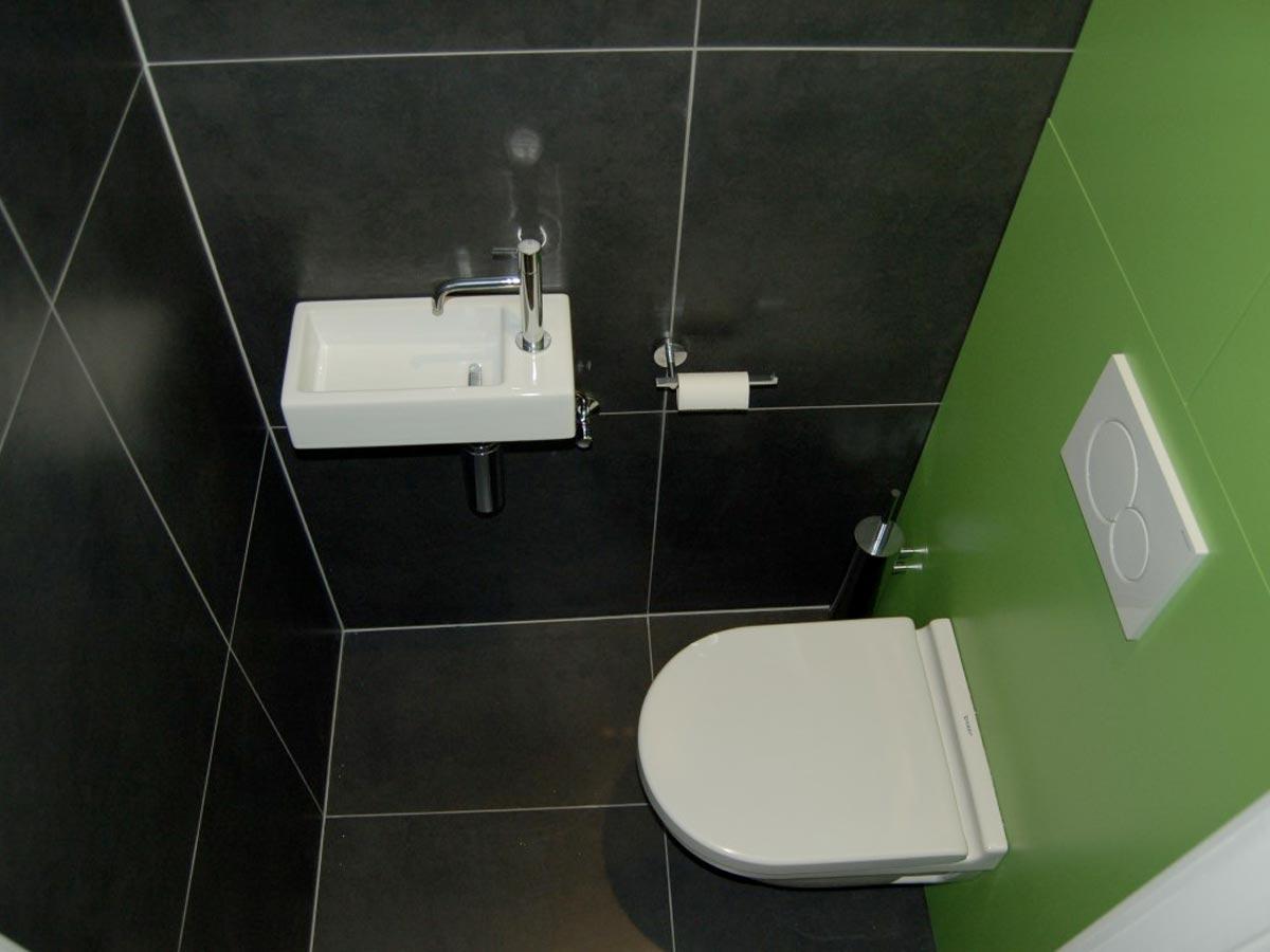 Wc En Badkamers : Kleine badkamer en toilet in nunspeet de wilde tegels sanitair
